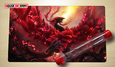 Yugioh Playmat Custom Made Play Mat Large Mouse Pad FREE TUBE C019