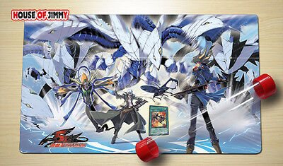Yugioh Playmat Custom Made Play Mat Large Mouse Pad FREE TUBE C004