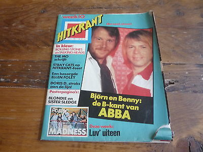 Hitkrant 1981: Abba/Luv'/Mo/Rolling Stones/Talking Heads/Blondie/Sister Sledge