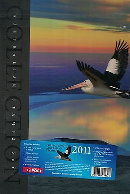 2011 Collection of Australian Stamps Year Album with exclusive minisheet MUH**