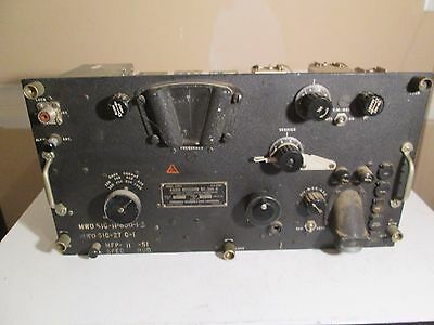 BC-344-D Military Radio Receiver US Army Signal Corps WW2 For Parts Or Repair