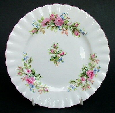Royal Albert Moss Rose 1st Quality Side or Bread Size  Plates 16cm - Look in VGC