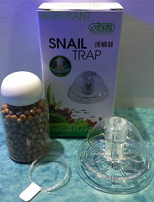 Ista Snail Catcher Trap With Bait for Aquarium Fish Tank Tropical or Coldwater