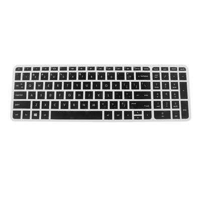 Silicone Keyboard SKin Cover Film Protector for HP Pavilion 15'' Laptop Back