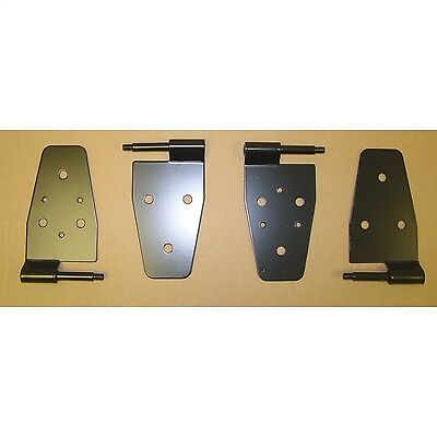 Rugged Ridge 11202.01 Door Hinge Kit Fits 87-06 Wrangler (TJ) Wrangler (YJ)