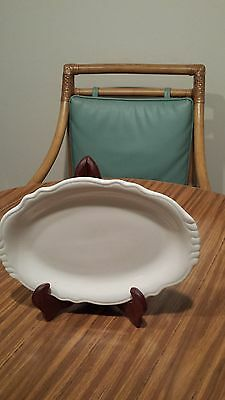 "Homer Laughlin ""Best China"" pattern platter 11 1/2 by 9 inches.  Made in England"