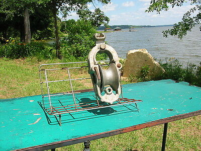Stringing Schackle Block Linemen Aluminum Pulley Campbell Specialty Mulgee Okla