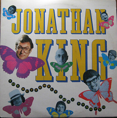 "JONATHAN KING THE BUTTERFLY THAT STAMPED 2x 12"" VINYL LP EX+"