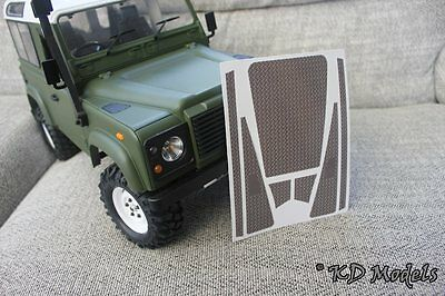 Custom Pre-Cut Decal Check Plate for Gelande D90 RC4WD Land Rover Crawler