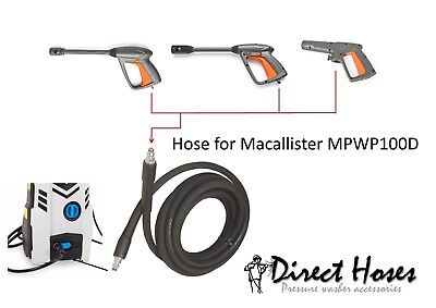 MacAllister Replacement Pressure Washer Hose for MPW100D