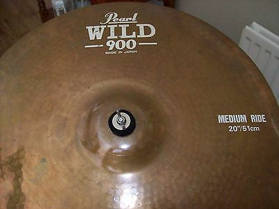 Vintage Japanese Made Pearl Wild 900 Ride Cymbal