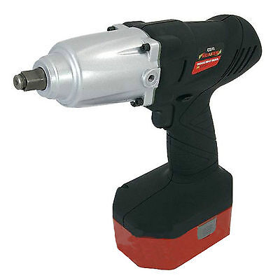 Heavy Duty Cordless 24V Impact Wrench Gun - 1/2Inch Drive With 2 Twin Batteries