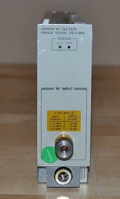 HP Agilent 70906A RF Section for 70000 Series 50khz-26.5GHz, Tested GOOD