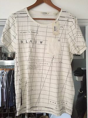 New With Tags Men's  Small Scotch & Soda T Shirt Scoop Neck