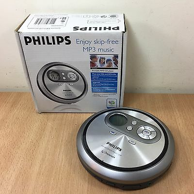 Boxed Philips EXP2450 MP3 CD Player Portable Handheld Discman