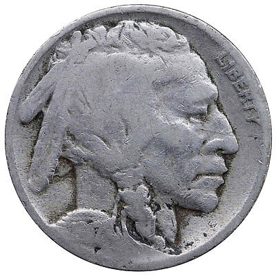 1917 Buffalo Nickel About Good AG