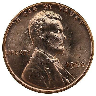 1960 Lincoln Memorial Cent Small Date BU Penny US Coin