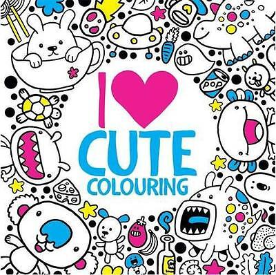I Heart Cute Colouring (Buster Activity) by Bradley, Jess | Paperback Book | 978