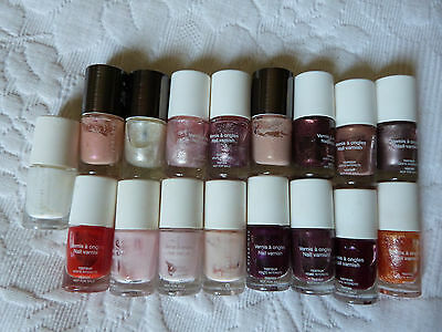 Grand lot 17x vernis a ongles Elysambre, manicure maquillage naturel