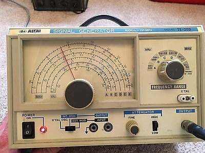 Signal Generator 100kHz To 150MHz Tested And Working