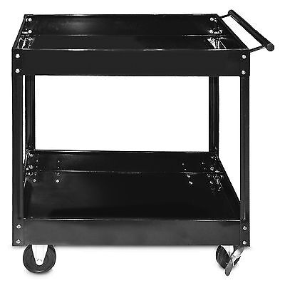 Steel Core 300lb 30in x 16in 2-Shelf Steel Service Tool Cart