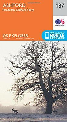 OS Explorer Map (137) Ashford by Ordnance Survey | Map Book | 9780319243305 | NE
