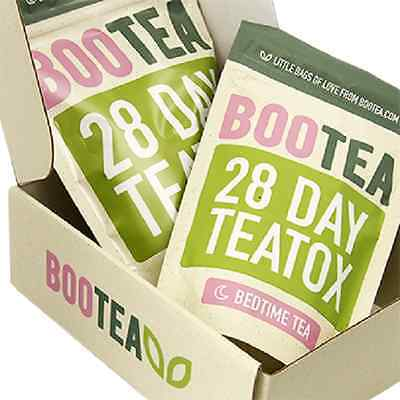 BOOTEA Teatox 28 Day Teatox Daytime & 14 Bedtime Weight Loss Healthy Tea