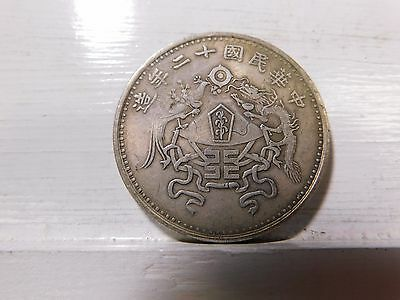 Unknown date and denomination Chinese Coin... tests silver China, Korea, Japan?