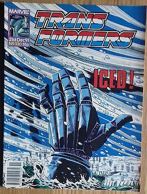 Transformers UK Comic Issue 330