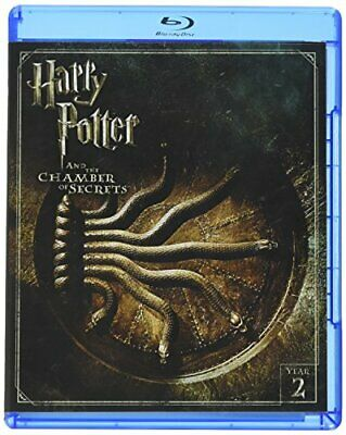Harry Potter and the Chamber of Secrets (Blu-ray Disc, 2016, 2-Disc Set) NEW