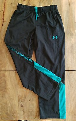 UNDER ARMOUR Boys (YLG/L) Athletic Fitness Sweat Pants - EUC