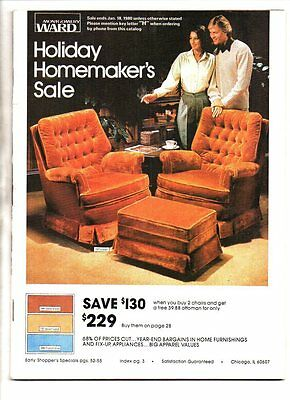 Montgomery ward holiday homemaker's catalog 1979