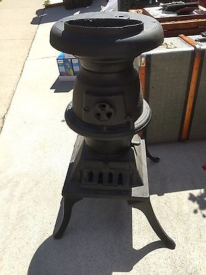 antique wood burning stove