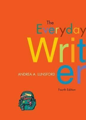 The Everyday Writer by Andrea A. Lunsford (2008, Paperback)