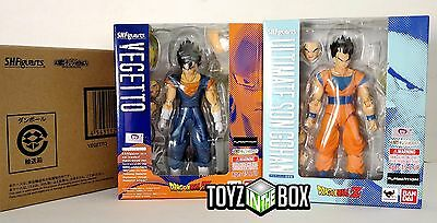 "In STOCK S.H. Figuarts ""Ultimate Son Gohan + Vegetto"" Dragonball Z Action Figure"