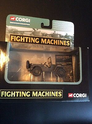 Corgi Showcase Collection Fighting Machine M4 Sherman Tank Diecast Limited