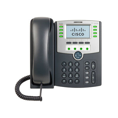 Cisco (Spa509G) 12 Line Ip Phone With Display; Poe And Pc Port