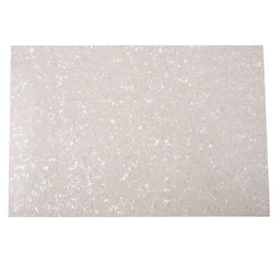 4Ply Guitar Bass Pickguard Blank Material Sheet ScratchPlate White Pearl 29x43cm