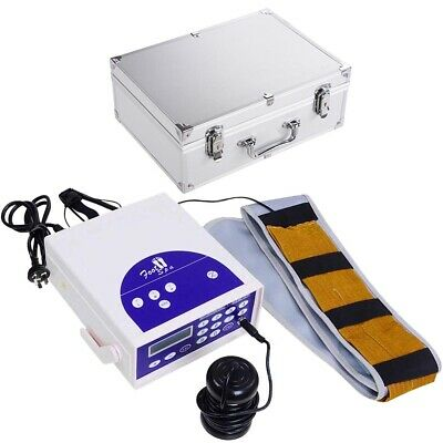 Ionic Ion Detox Foot Bath Spa Machine Single User Cell Cleanse LCD w/Belt Array