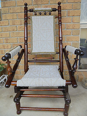 Platform rocking chair