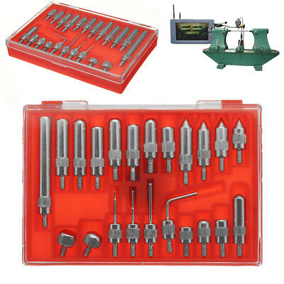 22pcs Steel Dial Indicator Point Set 4-48 Thread Tip For Dial & Test Indicators