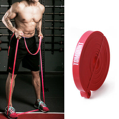 Cross Training Resistance Band Widerstandsband Fitnessband Trainingsband ROT