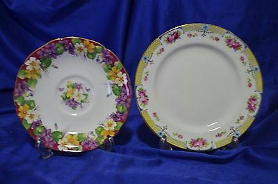 Paragon Saucer and Side Plate mix