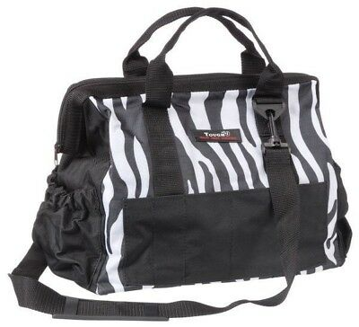 Tough-1 Show Case Groom Bag in Prints Pink Zebra