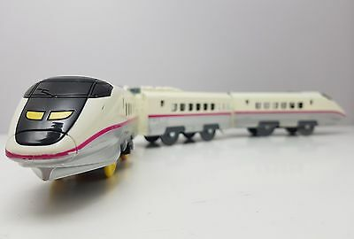 Takara PLARAIL JAPAN BULLET TRAIN Shinkansen Komachi 2 Speed Tomy Trackmaster