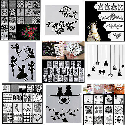 Novelty Layering Stencils Template for DIY Scrapbooking Album Paper Card Crafts