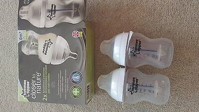Tommee Tippee Closer to Nature anti colic bottles