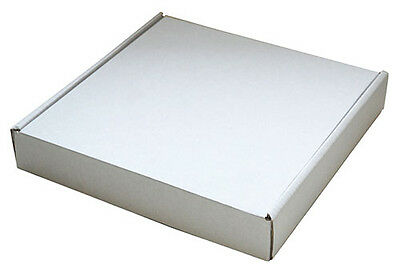 240mm x 240mm x 40mm White Small Parcel Die Cut Postal Mailing Shipping Boxes
