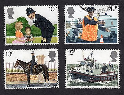 1979 150th Anniv of Metropolitan Police SG 1100 to 1103 Very Good Used R6841