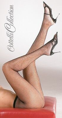 Sexy Calze Collant Intimo Donna Black Net Tights Stockings Lingerie S-L